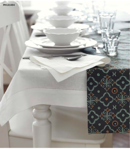 GULLMAJ series Linen-cotton - Napkins $5.99-2pk, Tablecloth $24.99 JUDIT table runner $9.99